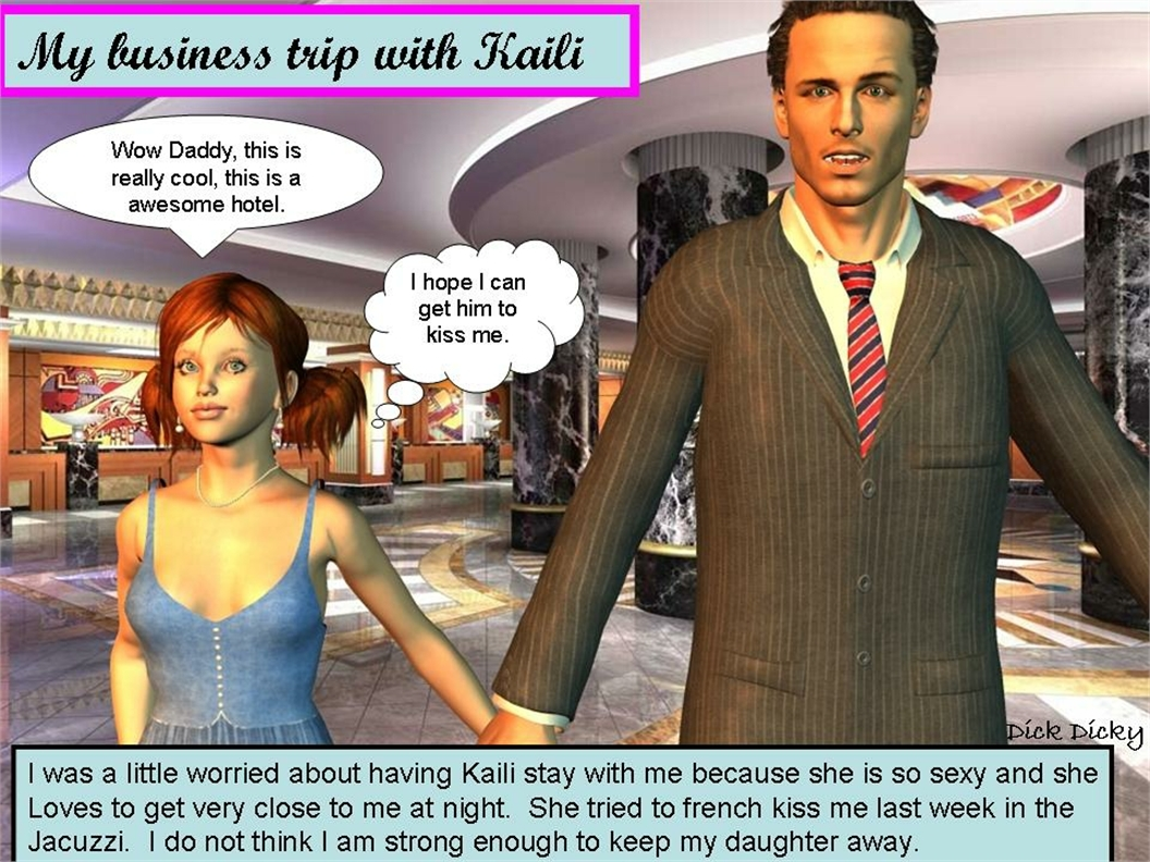 3D Comic Porn Free dick dicky – my business trip with kaili   free incest porn