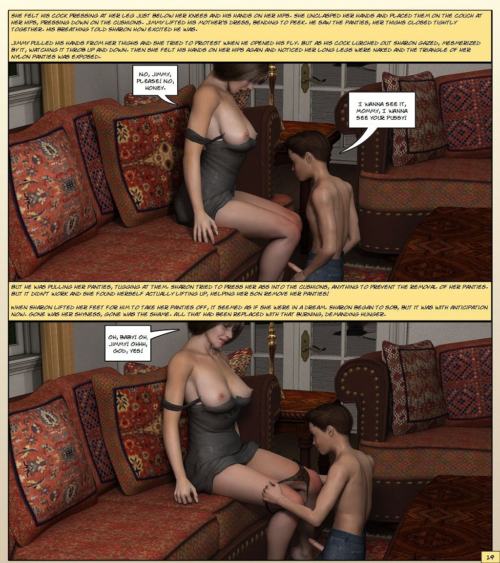Mom comic porn