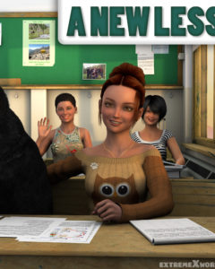 A New Lesson For Alice – ExtremeXWorld | 3D Porn Comics