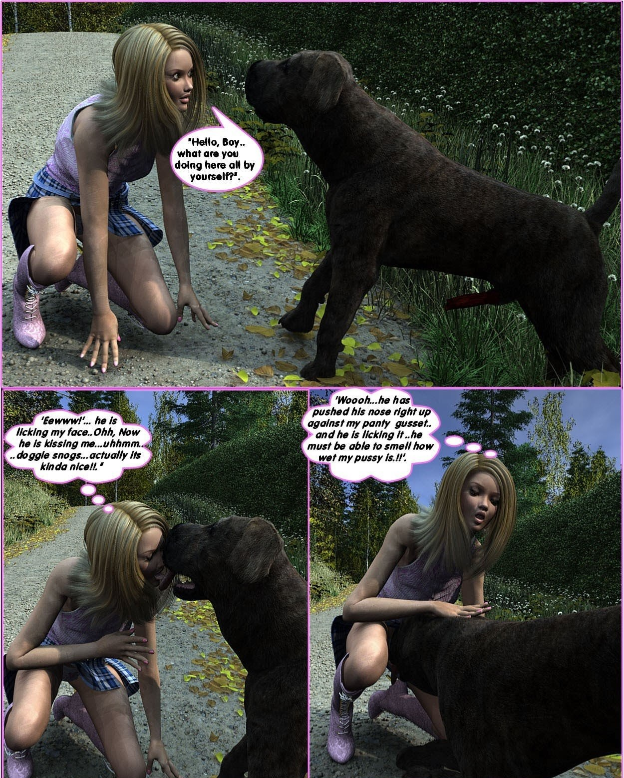Animal Porn With A Man darksoul3d – racheal's romp | free 3d animal porn comics