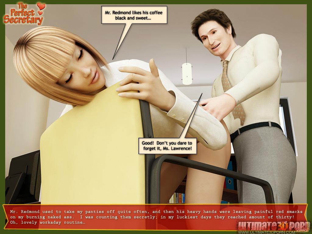 Ultimate3Dporn  The Perfect Secretary  Free 3D Porn Comics-8248