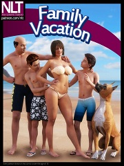 NLT Media – Family Vacation | 3D Family Incest Porn Comics