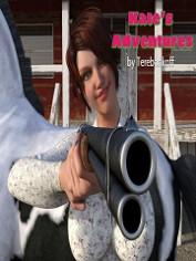 Kates Adventures – Terebonkoff – 3D Animal Porn Comics