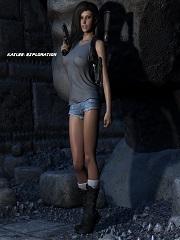 Eclesi4stik – Kaylee Exploration | Free 3D Porn Comics