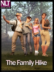 The Family Hike – NLT Media | 3D Family Incest Porn Comics