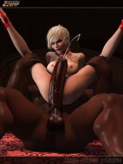 Zzomp – High Class Whore | Free 3D Interracial Porn Comics Online