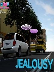 Y3DF – Jealousy | Free Porn Comics