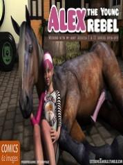 ExtremeXWorld – Alex The Young Rebel | Free 3D Animal Porn Comics