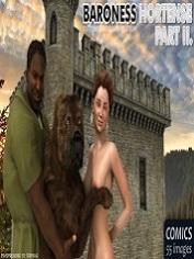 ExtremeXWorld – Baroness Hortense 2 | 3D Animal Porn Comics Online