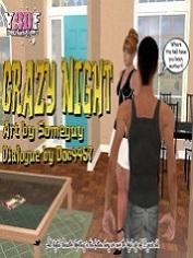 Y3DF – Crazy Night | Free 3D Incest Porn Comics