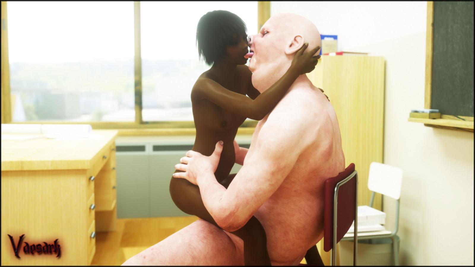 Vaesark  Ebony Teen Fucking Professor  Free Porn Comics-6626