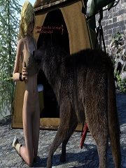DarkSoul3D – Lone Wolf – 3D Animal | Free Porn Comics