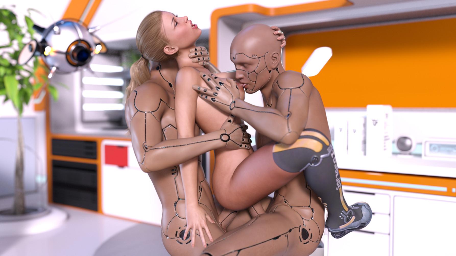красивое порно роботы примере