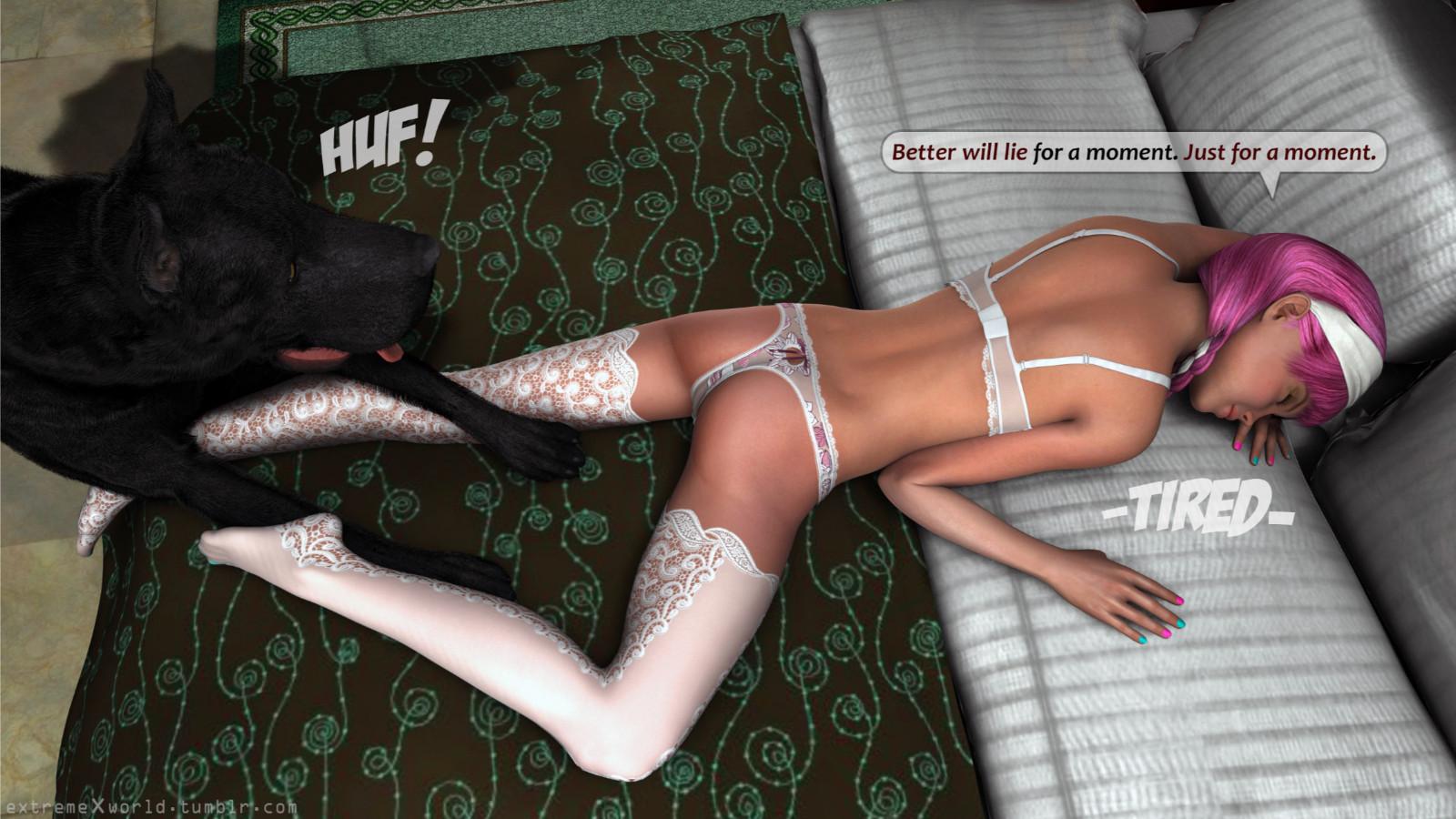 Extremexworld  Wedding  3D Animal Porn Comics-7265