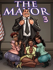 BlacknWhiteComics – The Mayor 3 | Free Porn Comics